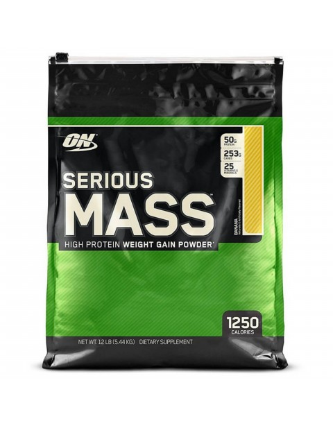 ГЕЙНЕР OPTIMUM NUTRITION SERIOUS MASS 5455 ГРАММ